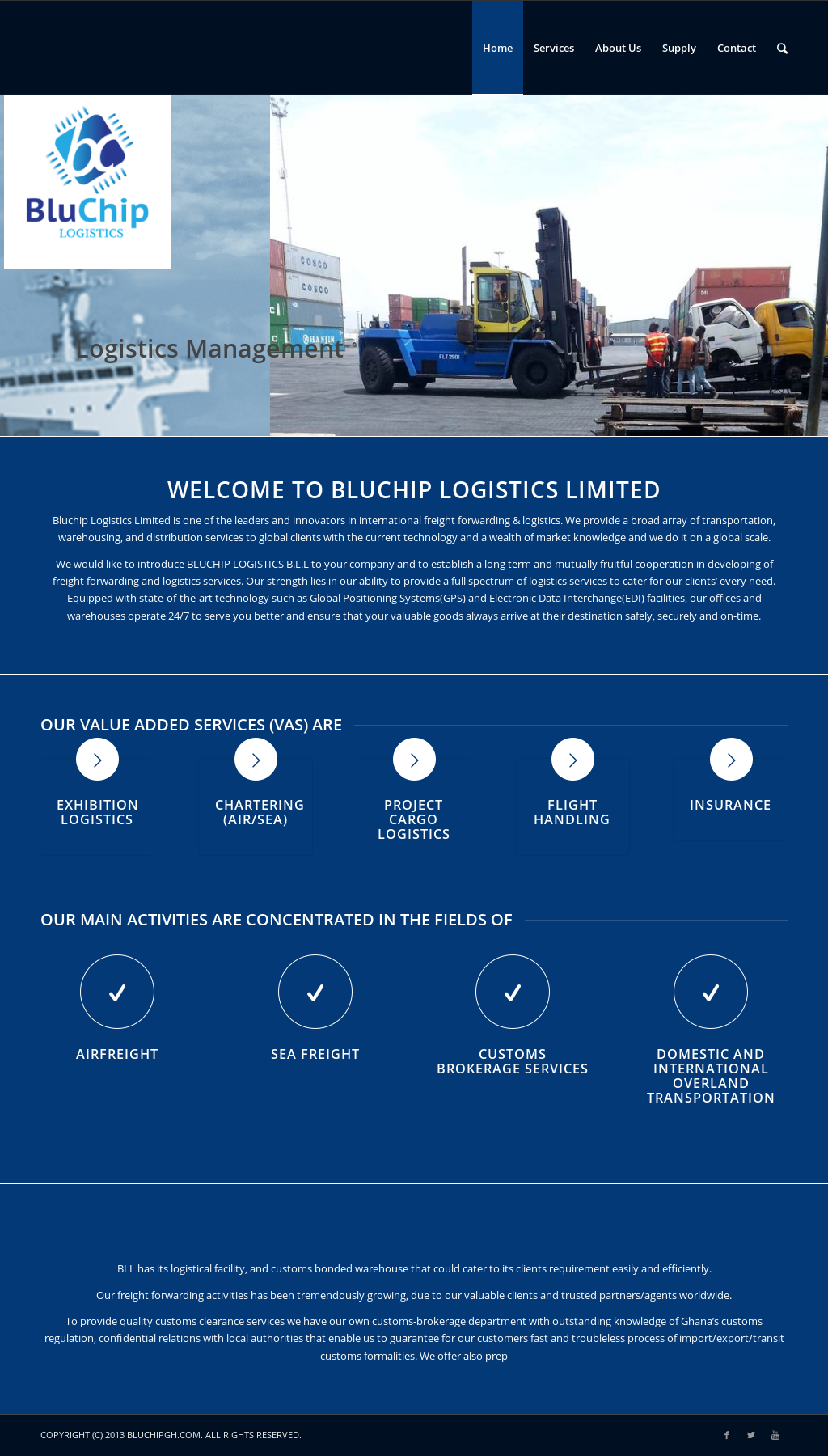 logistics history Visit the company history of vrl logistics & know all about its milestones and achievements.