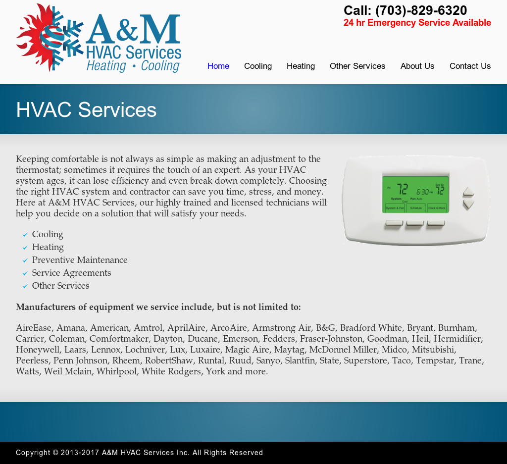 A&m Hvac Services Competitors, Revenue and Employees - Owler