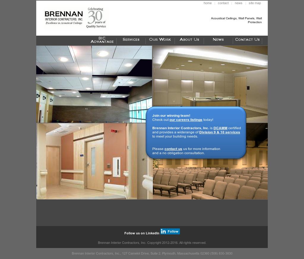 Brennan interior contractors competitors revenue and for Interior contractors