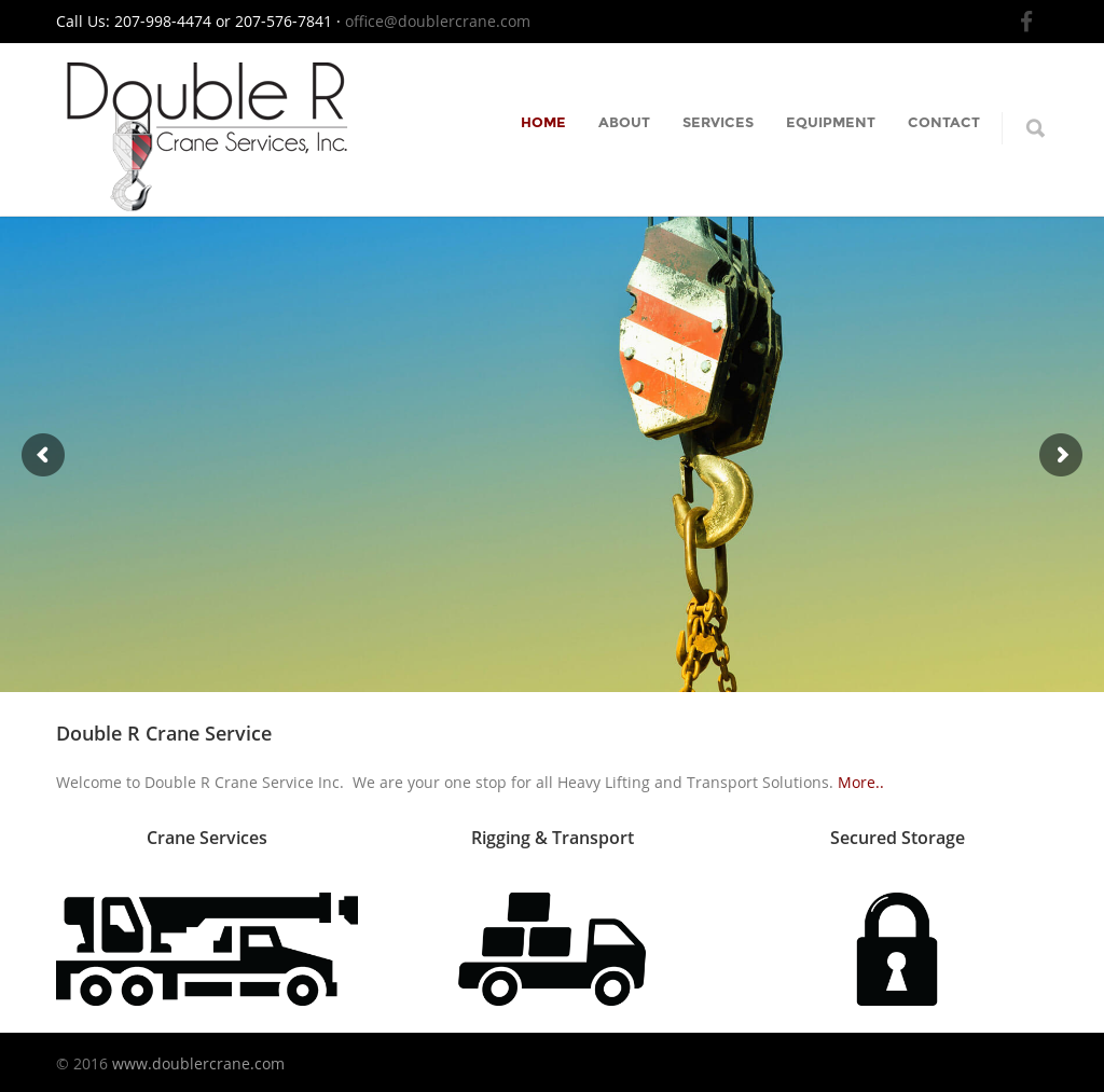 Property Of Double R Crane Services Competitors, Revenue and