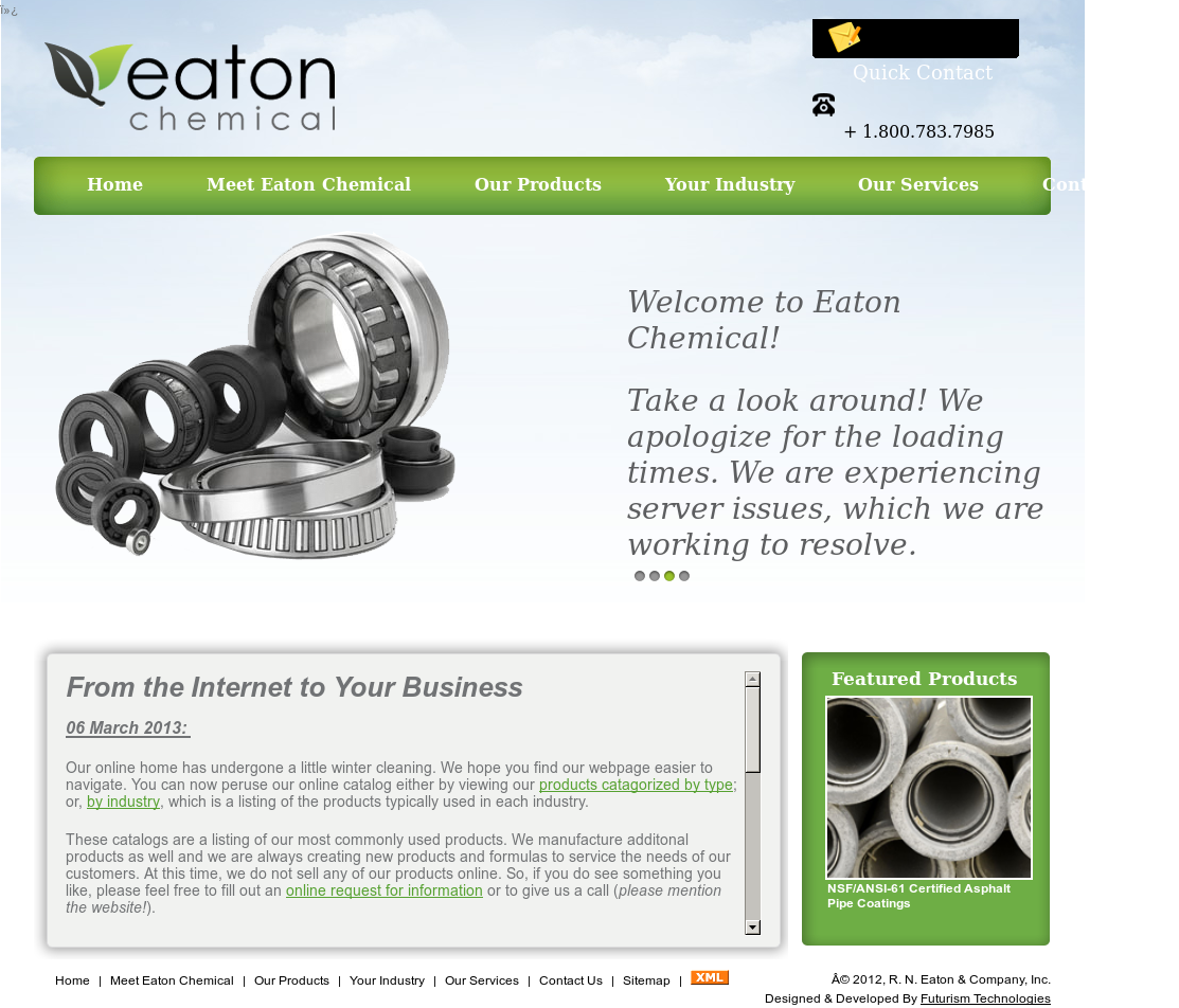 eaton chemical competitors revenue and employees owler company