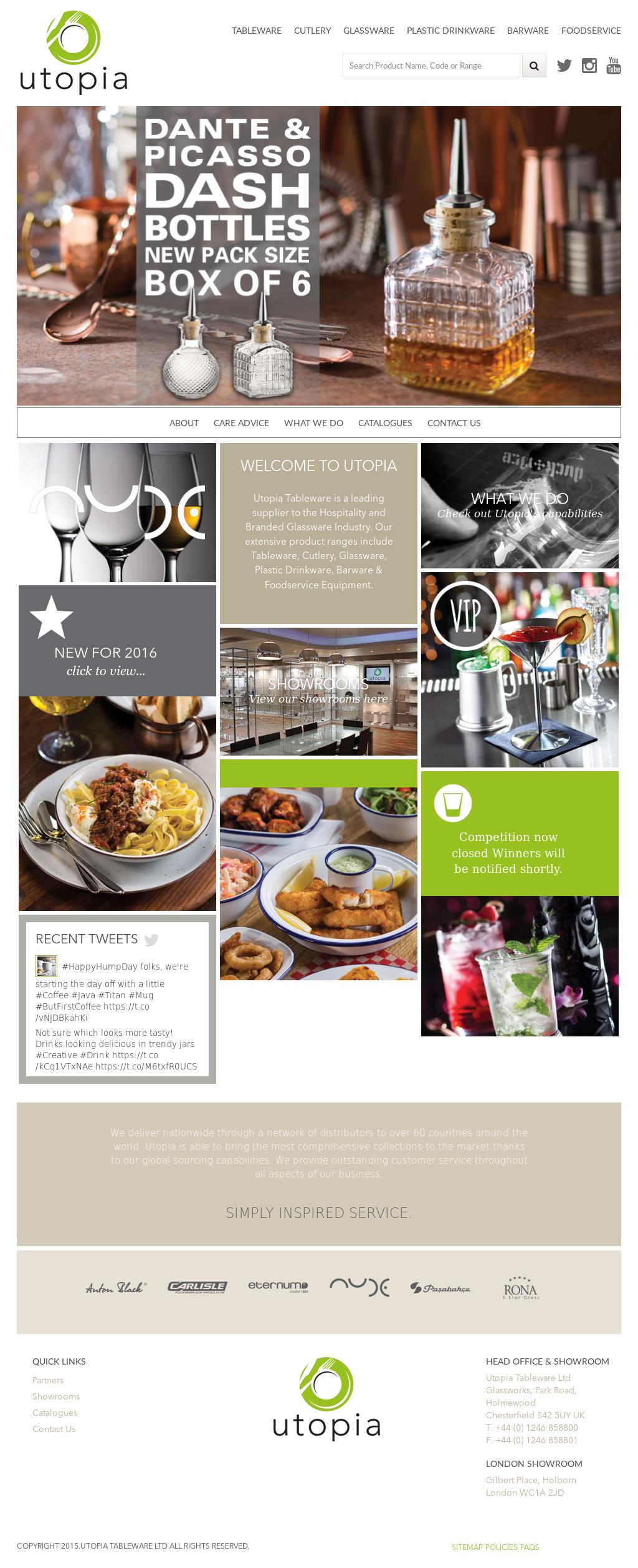 Utopia Tableware website history  sc 1 st  Owler & Utopia Tableware Competitors Revenue and Employees - Owler Company ...