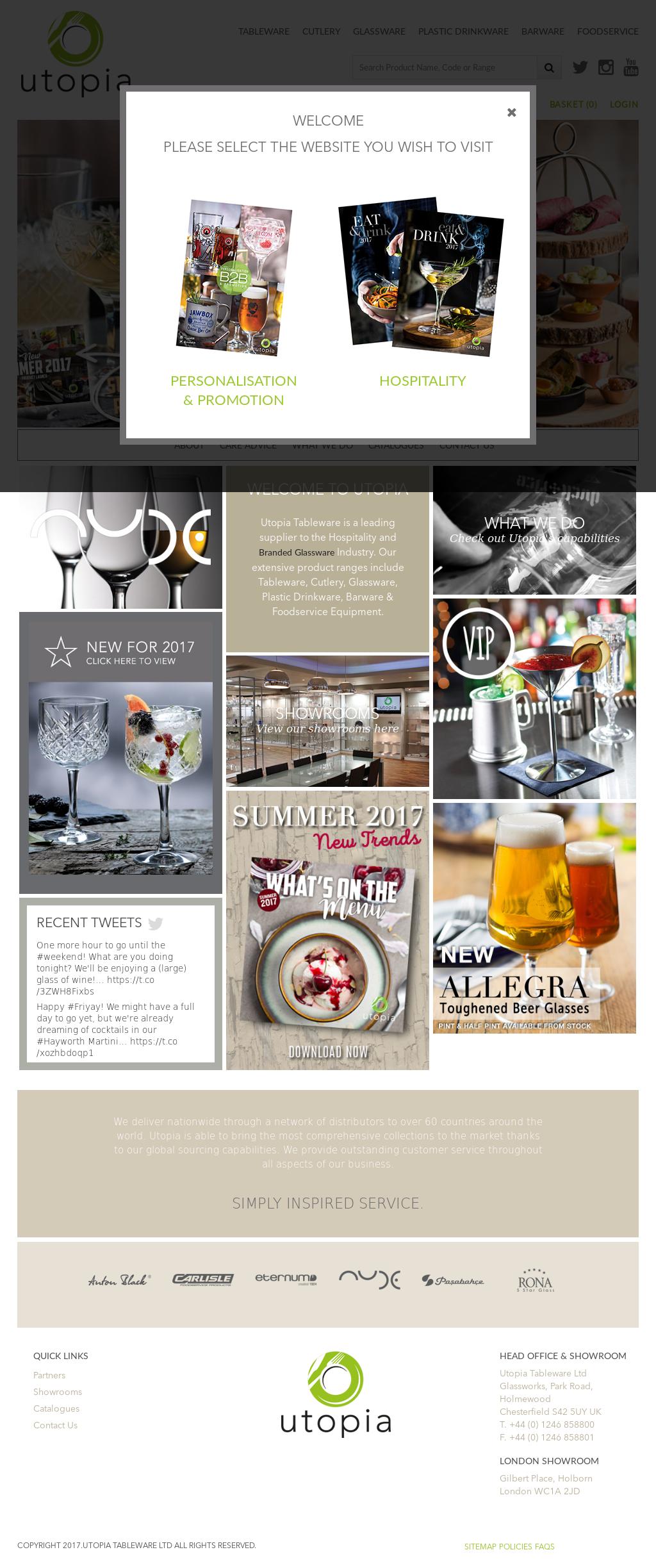 Utopia Tableware website history & Utopia Tableware Competitors Revenue and Employees - Owler Company ...