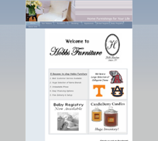Hobbs Furniture Website History