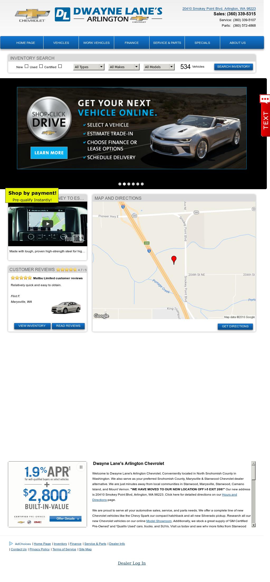 Dwayne Lane s Family Auto Centers petitors Revenue and