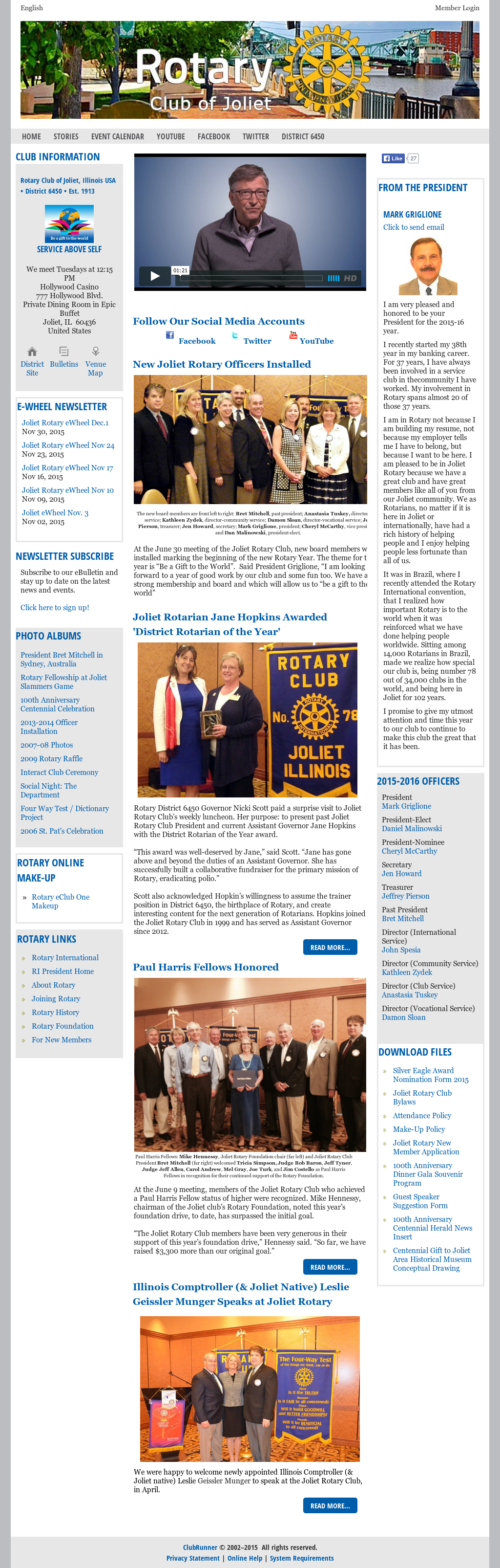 Rotary Club Of Joliet, Il Competitors, Revenue and Employees - Owler