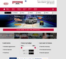 Stevenson Kia Of Jacksonville Website History