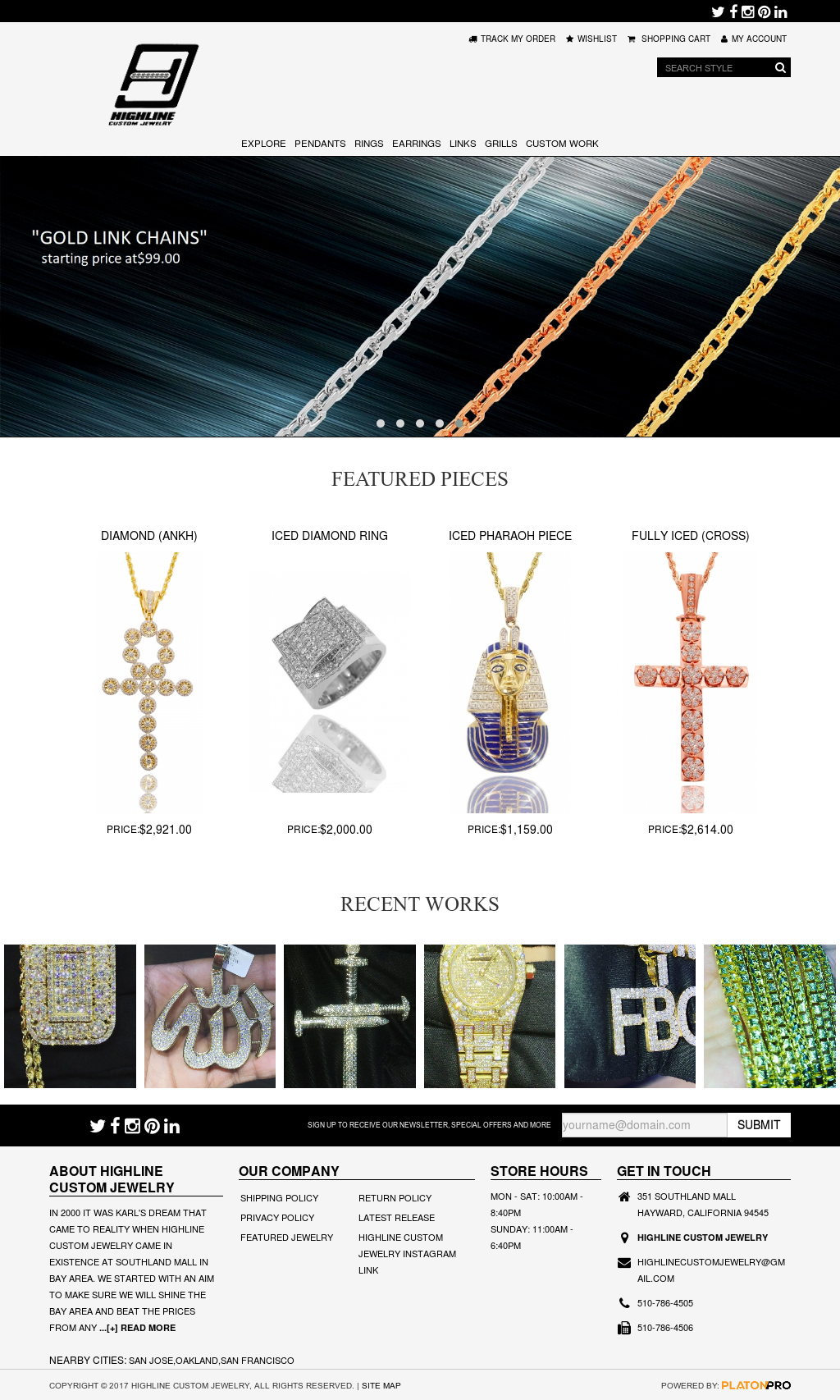 Highline custom jewelry competitors revenue and employees for Highline custom jewelry ig