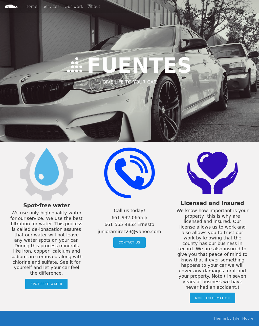 Fuentes mobile car wash and detailing competitors revenue and fuentes mobile car wash and detailing website history solutioingenieria Images