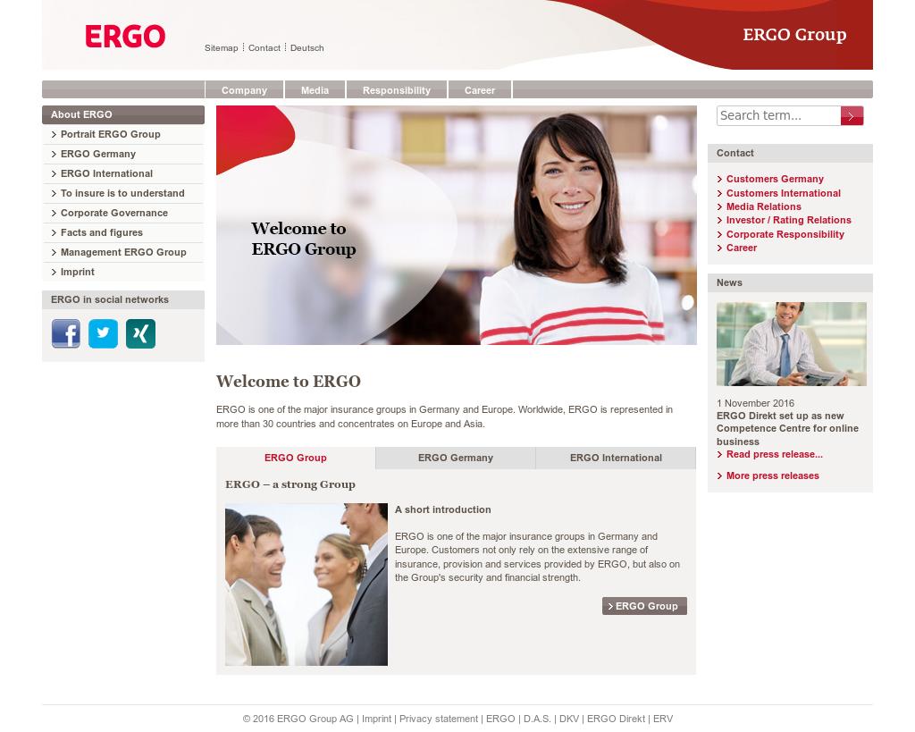 ERGO Competitors, Revenue and Employees - Owler Company Profile