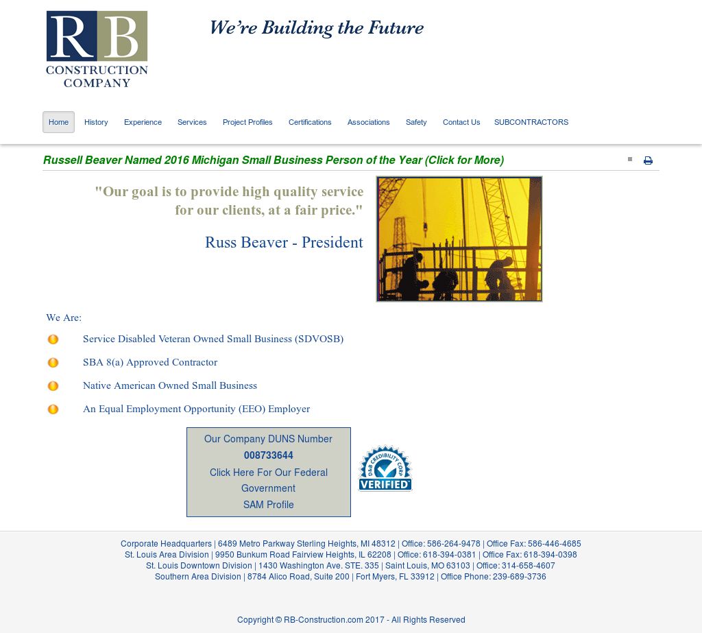 RB Construction Competitors, Revenue and Employees - Owler Company