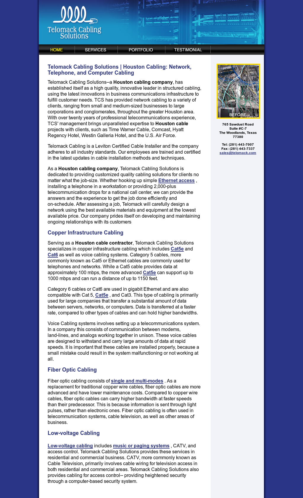 Telomack Cabling Solutions Competitors, Revenue and