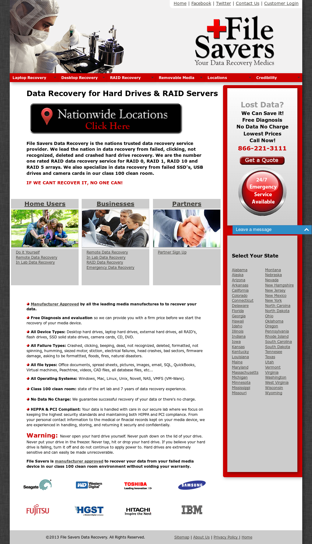 file savers data recovery competitors revenue and employees owler