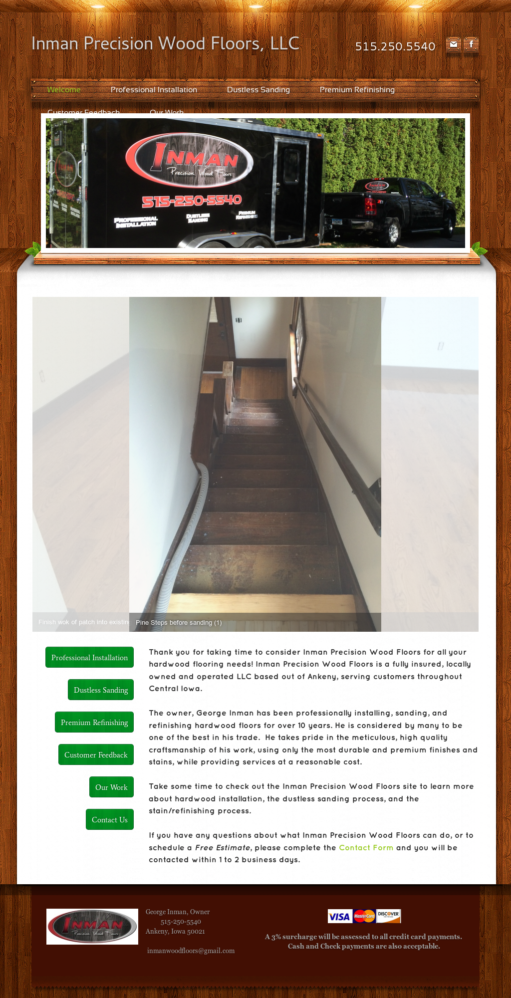 Inman Precision Wood Floors Competitors Revenue And
