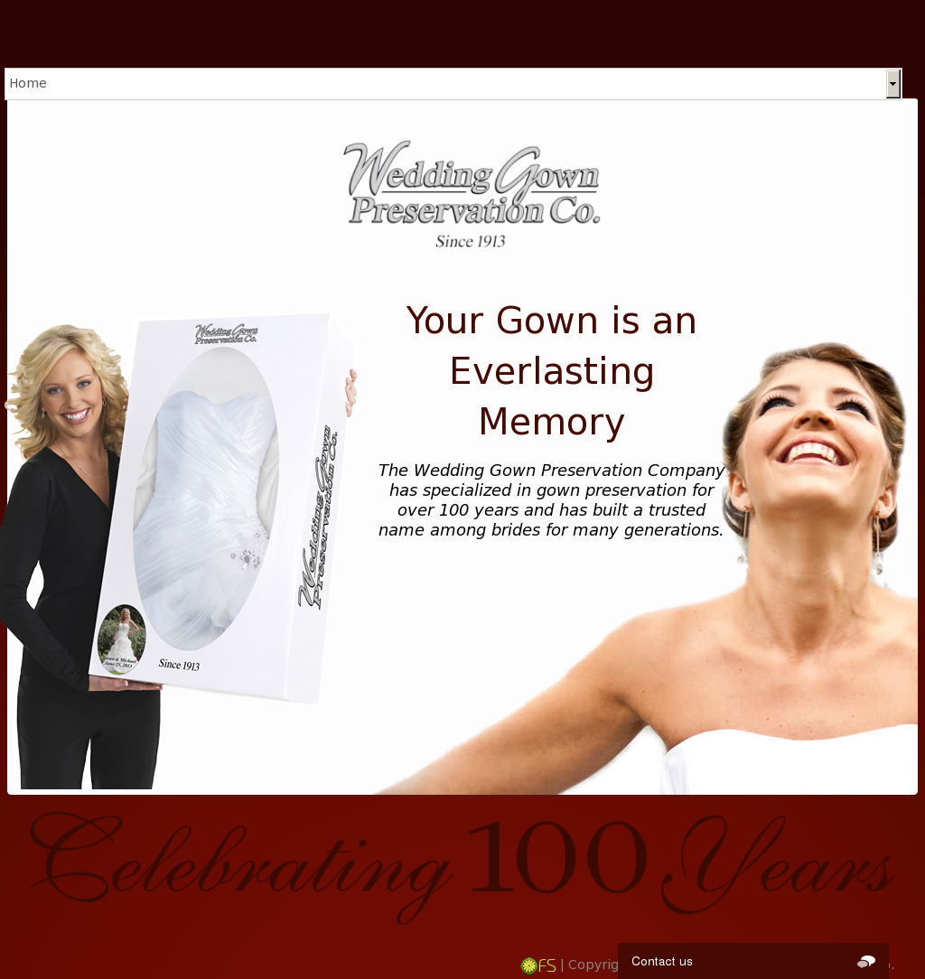 wedding gown preservation competitors, revenue and employees