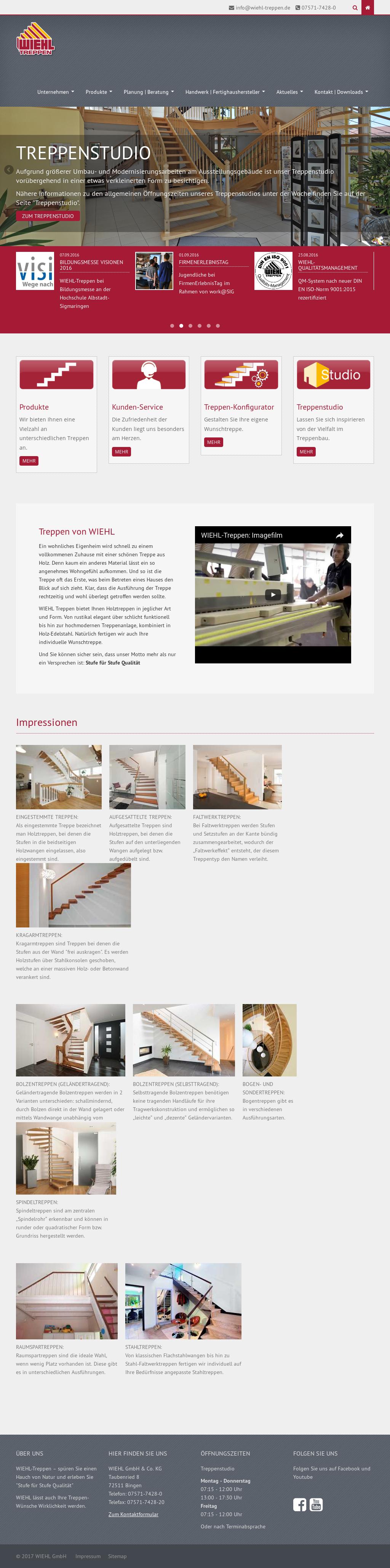 Künstlerisch Wiehl Treppen Sammlung Von Wiehl-treppen, Petitors, Revenue And Employees - Owler