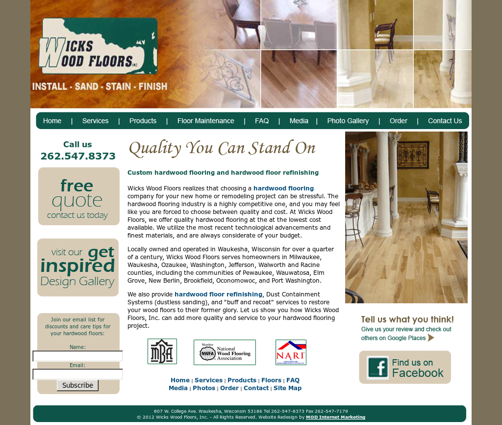Wicks Wood Floors Compeors Revenue And Employees Owler Company Profile