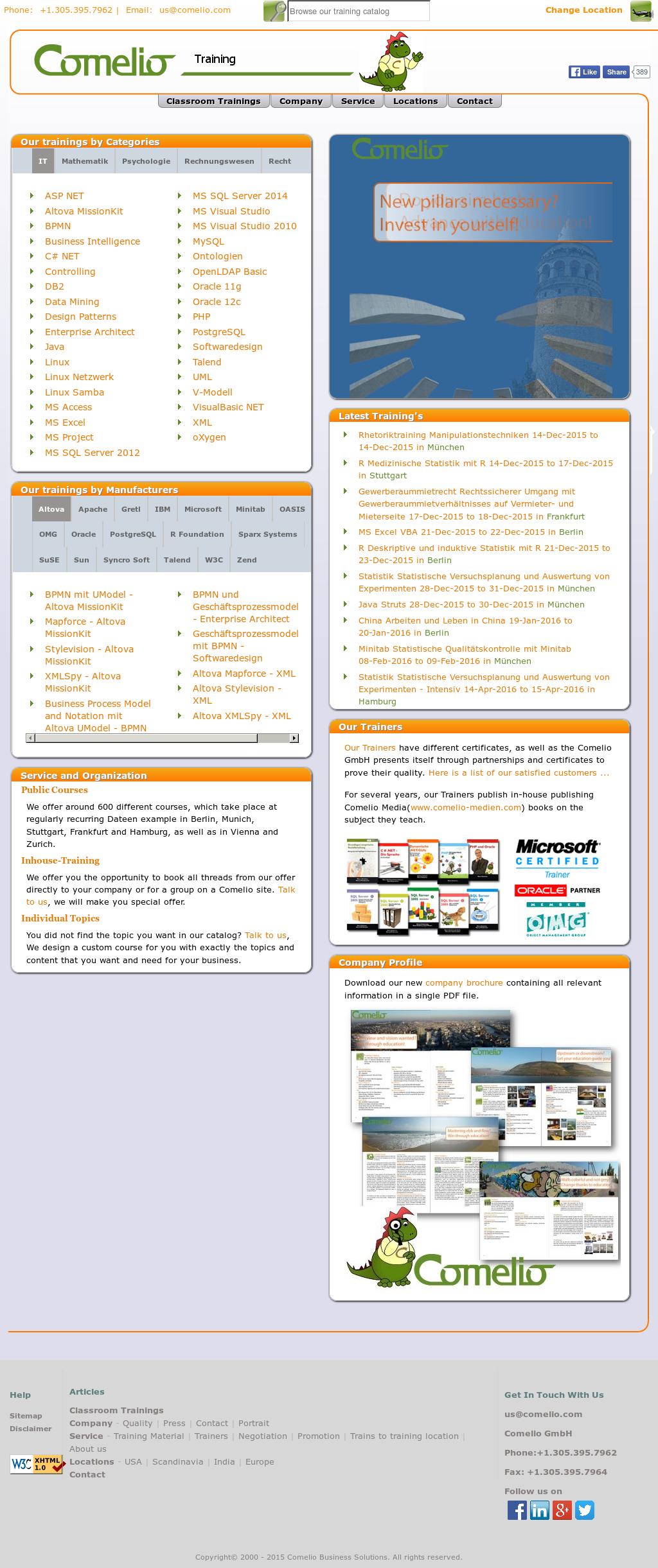 Comelio Business Solutions Competitors, Revenue and