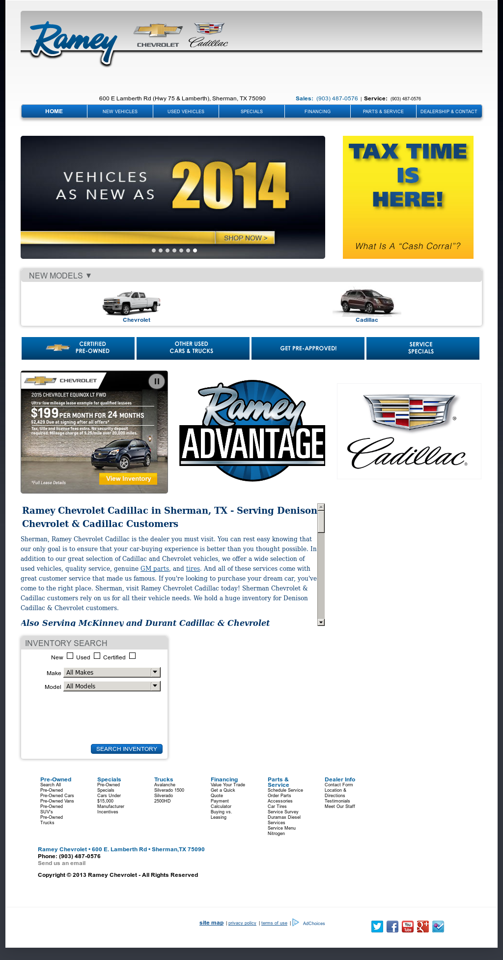 Ramey Chevrolet Sherman Tx >> Ramey Chevrolet Competitors Revenue And Employees Owler