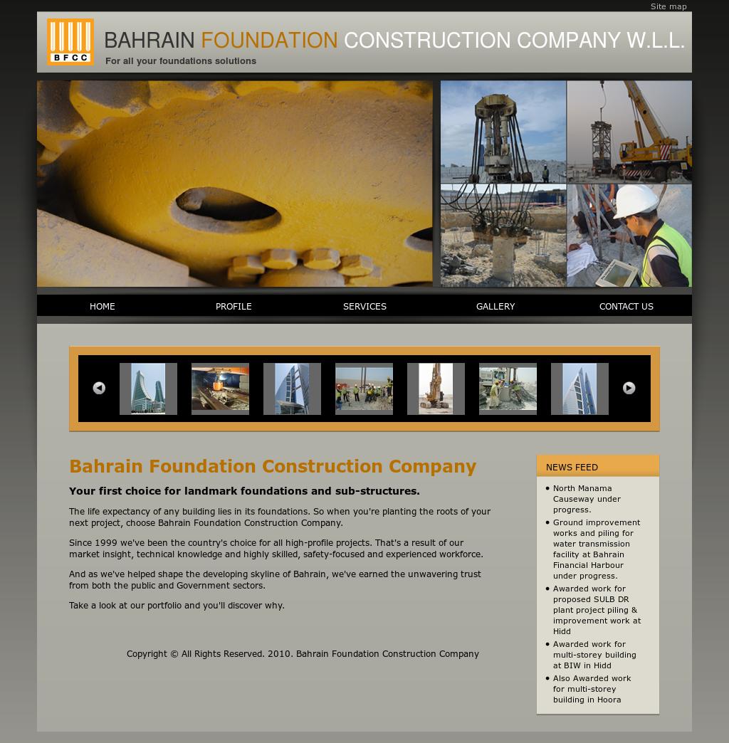Bahrain Foundation Construction Company Competitors, Revenue and