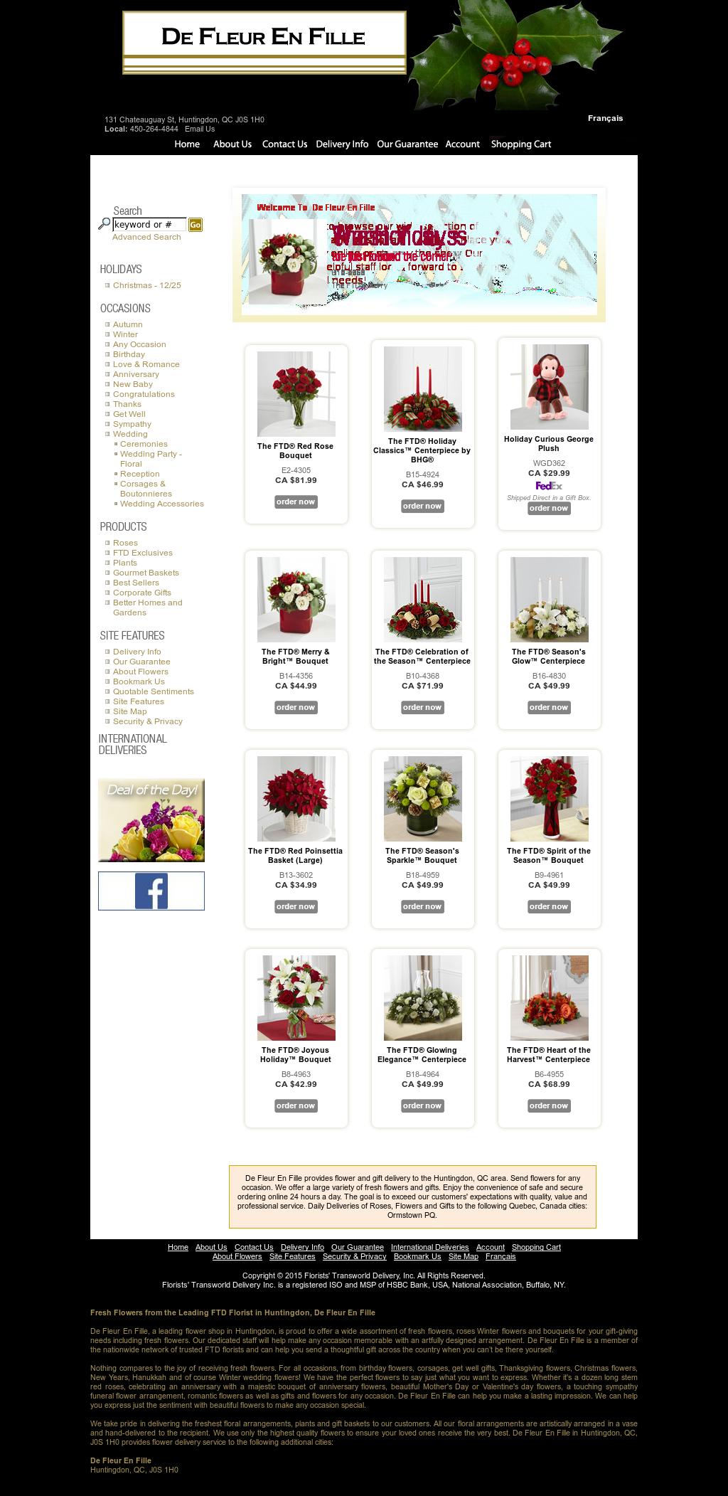 Fleuriste De Fleur En Fille Competitors, Revenue and Employees