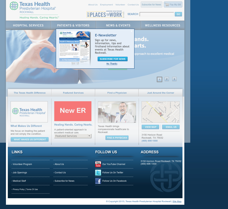 Texas Health Presbyterian Rockwall Competitors, Revenue and