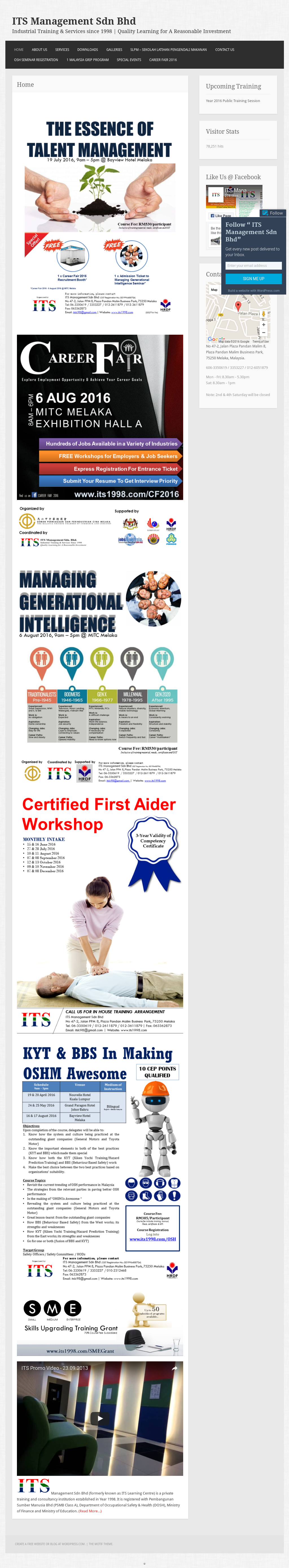 Its Management Sdn Bhd - Industrial Training & Services