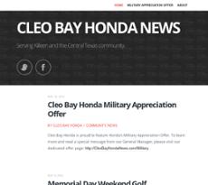 Cleo Bay Honda >> Cleo Bay Honda News Competitors Revenue And Employees