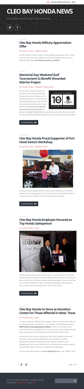 Cleo Bay Honda >> Cleo Bay Honda News Competitors Revenue And Employees Owler