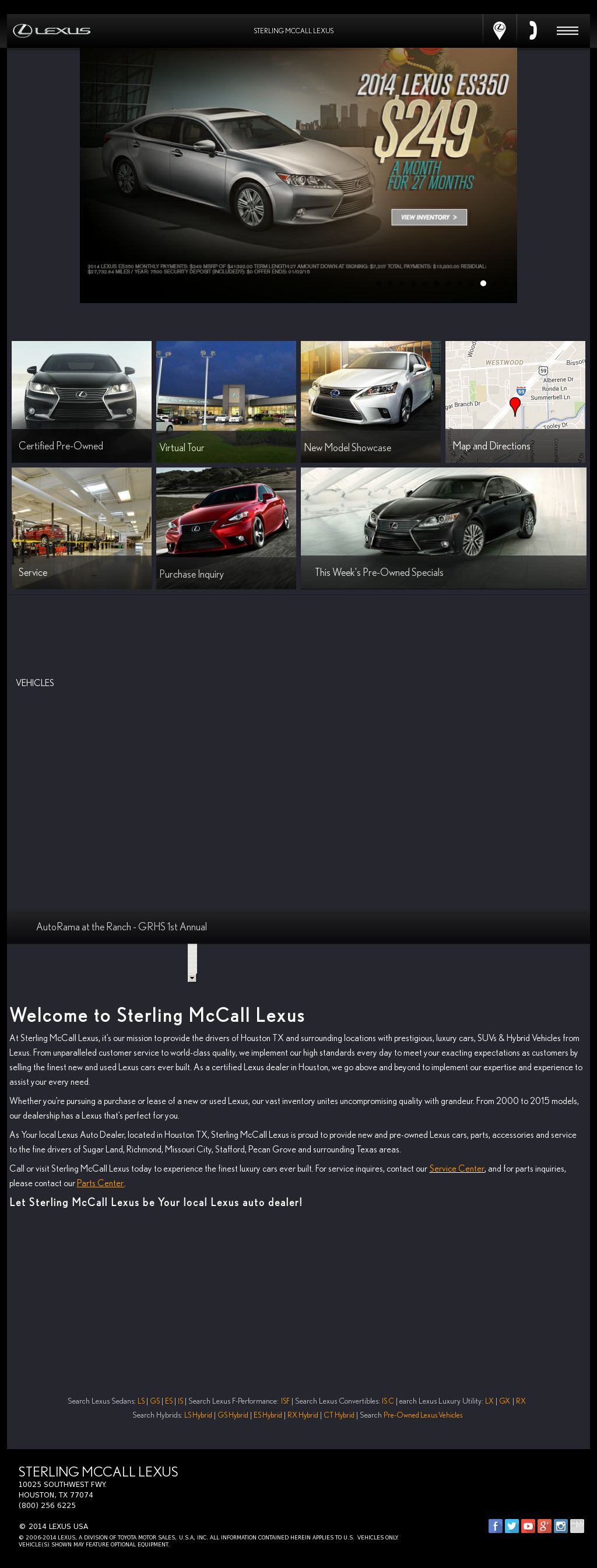 Sterling McCall Lexus Competitors, Revenue And Employees   Owler Company  Profile