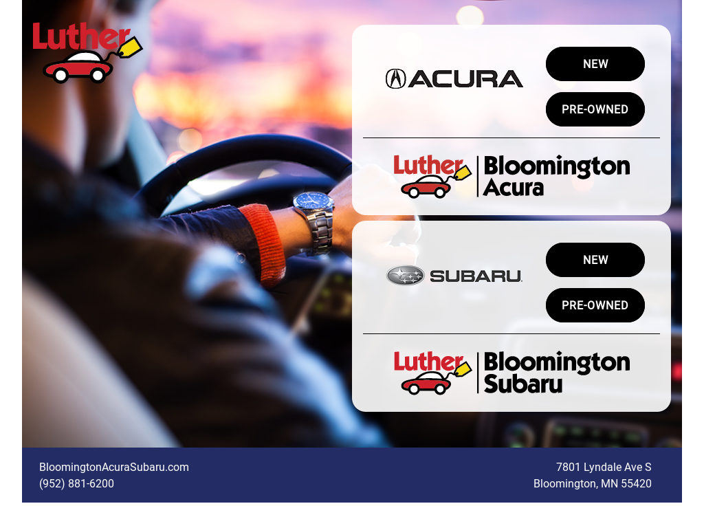 bloomington acura and subaru competitors revenue and employees