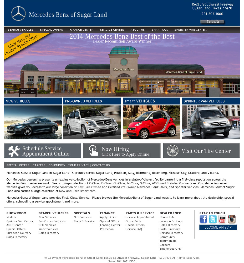 Mercedes Benz Of Sugar Land Competitors Revenue And Employees