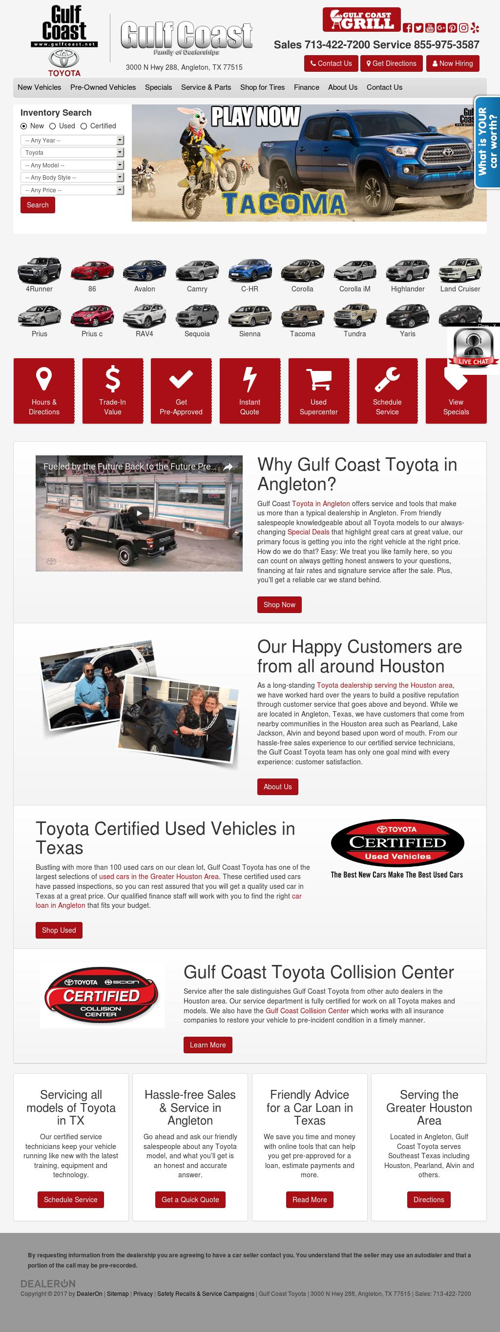 Gulf Coast Toyota >> Gulf Coast Toyota Competitors Revenue And Employees Owler