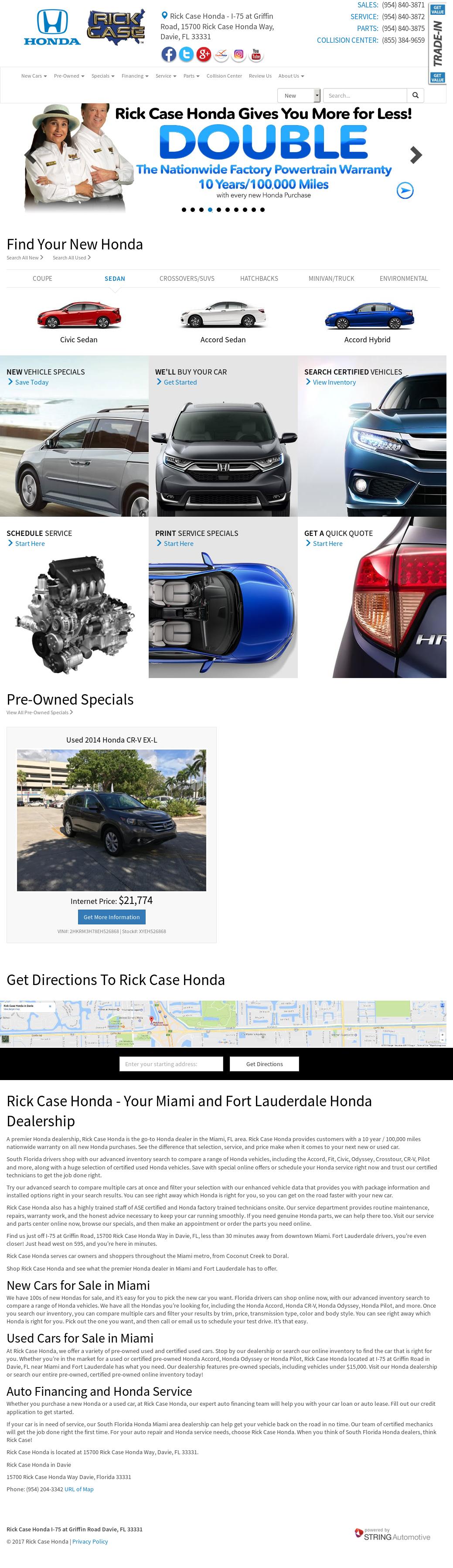 Rick Case Honda In Davie Petitors Revenue And Employees Owler