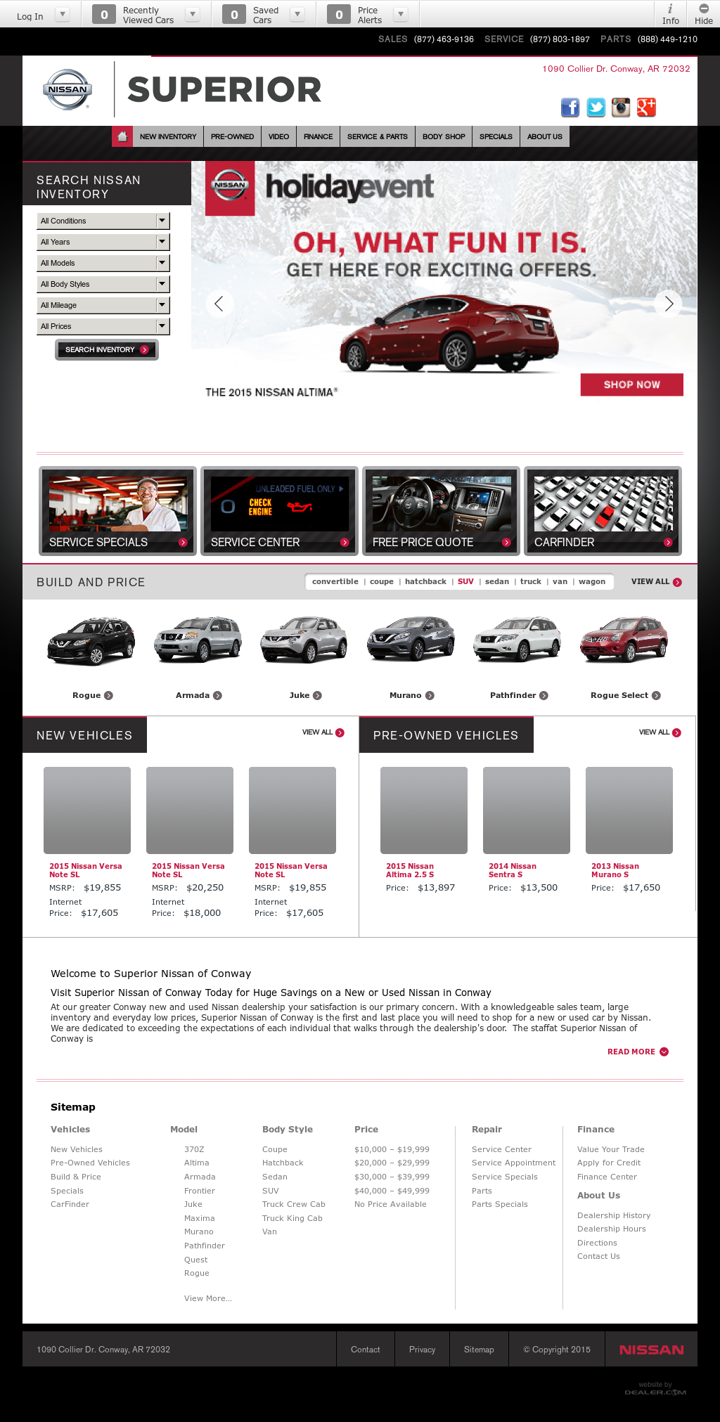 Superior Nissan Conway >> Superior Nissan Of Conway Competitors Revenue And Employees