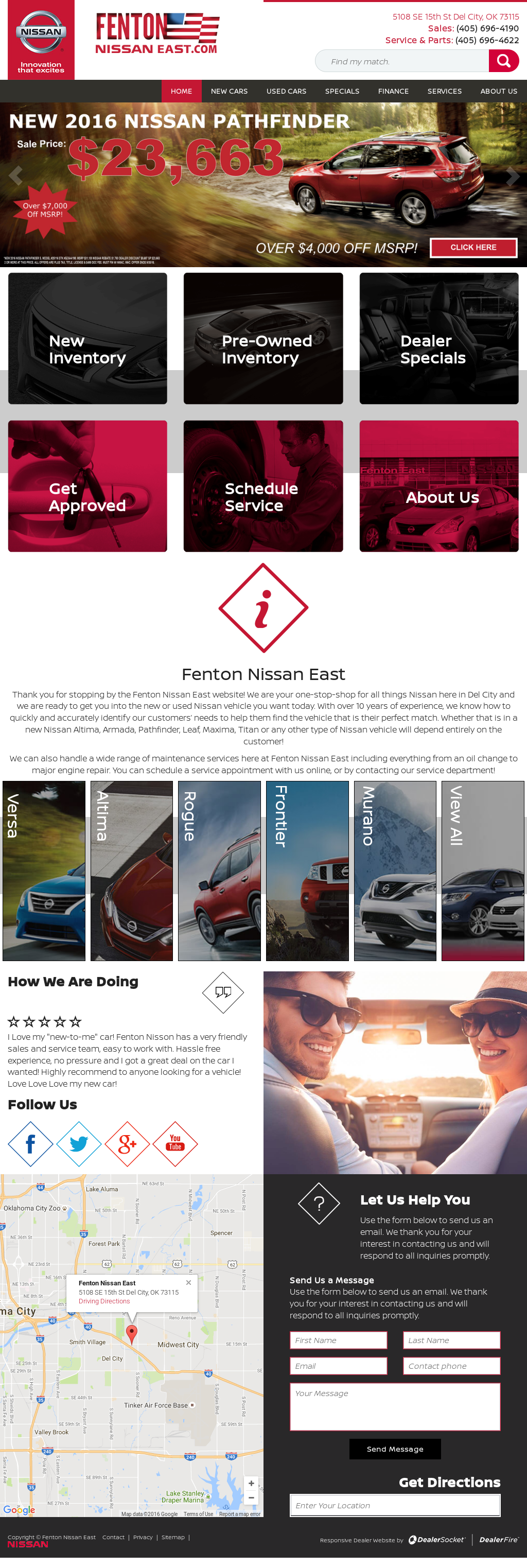 Fenton Nissan East >> Fenton Nissan East Competitors Revenue And Employees