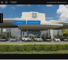 Mercedes Benz Of Flemington Website History