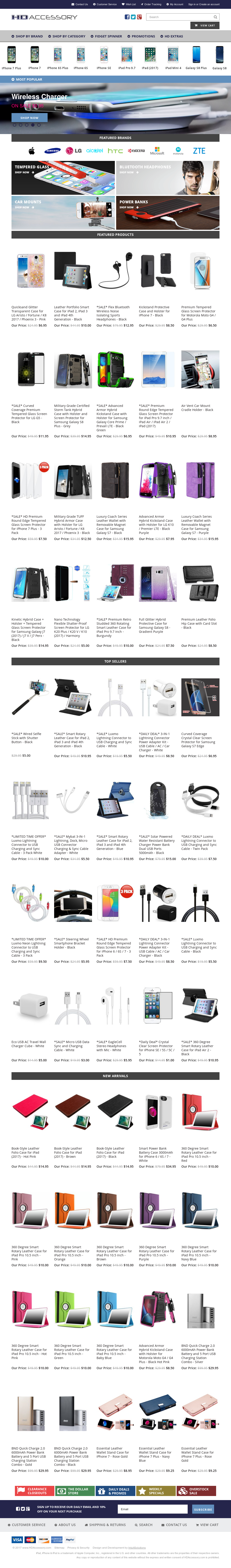 HD Accessory is a mid-size mobile phone accessories retailer which operates the website quidrizanon.ga As of today, we have 7 active HD Accessory promo codes and 1 sale. The Dealspotr community last updated this page on November 21, /4(1).