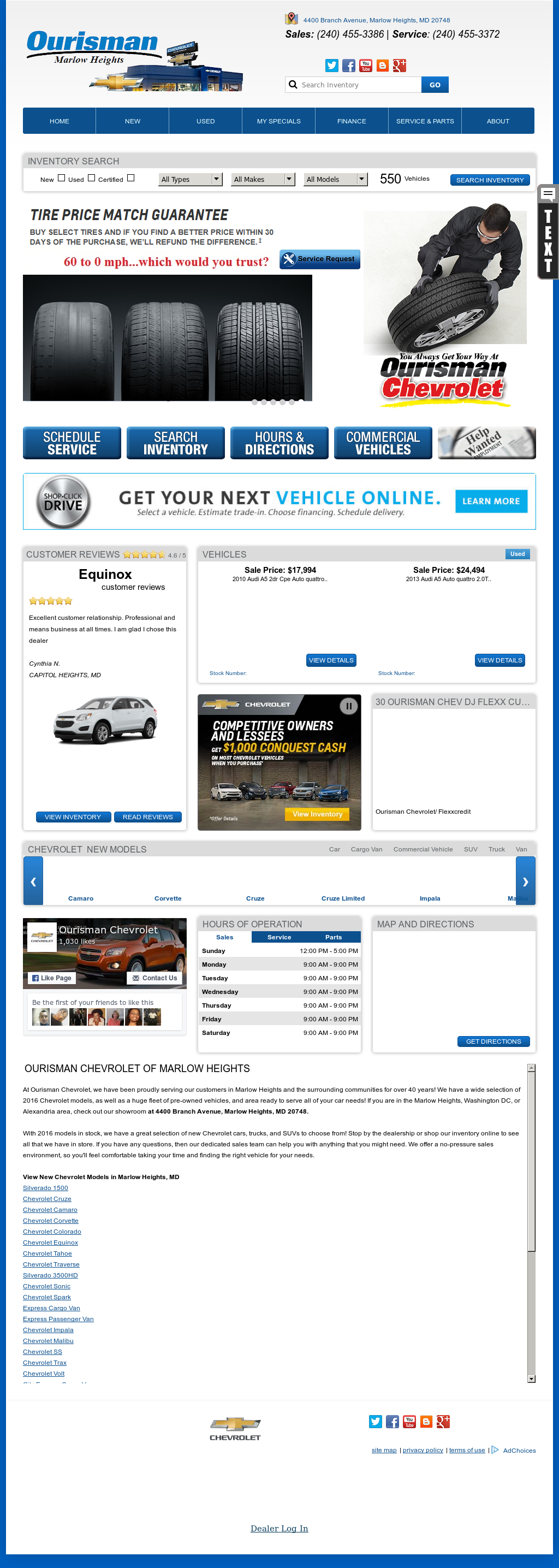 Ourisman Automotive Enterprises Competitors Revenue And