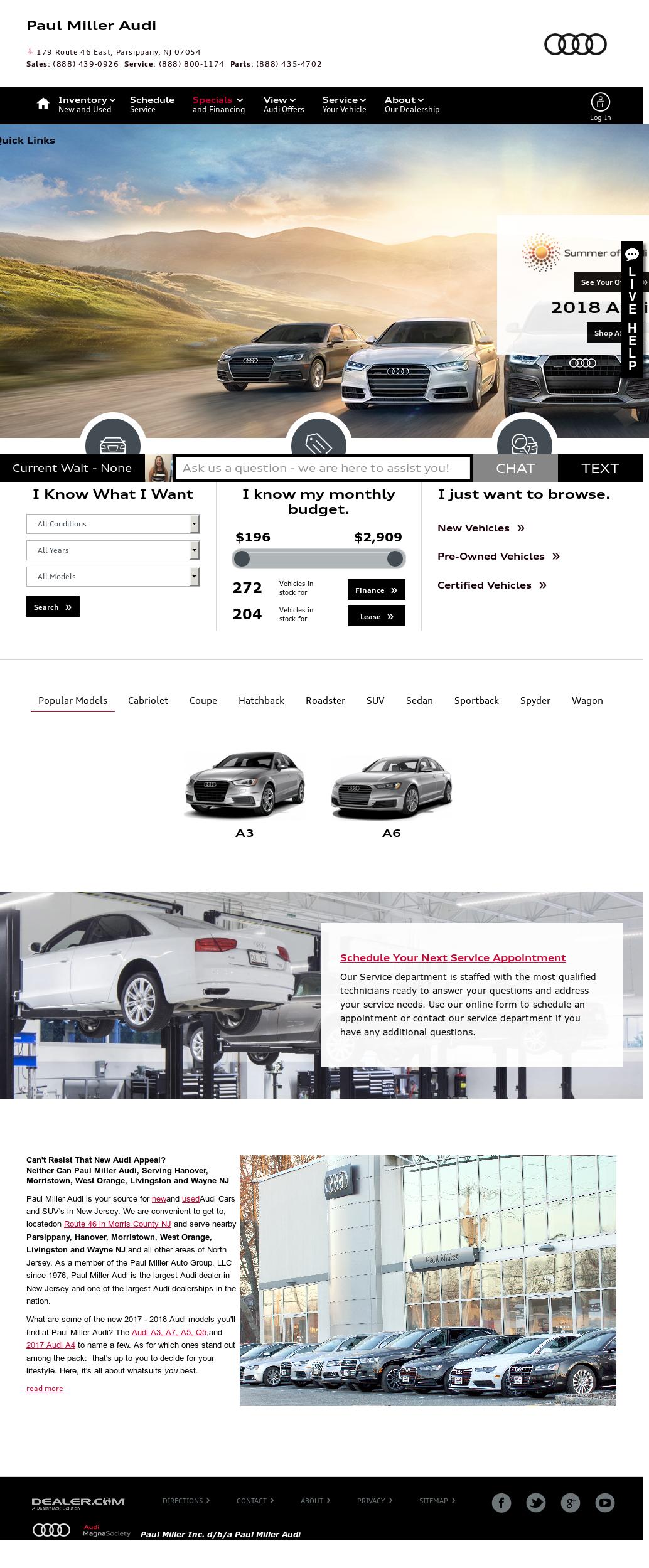 Paul Miller Auto Group