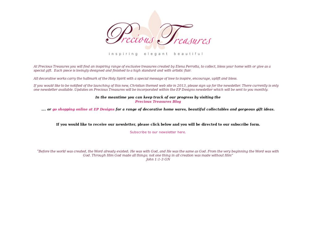 Precioustreasures Competitors, Revenue and Employees - Owler