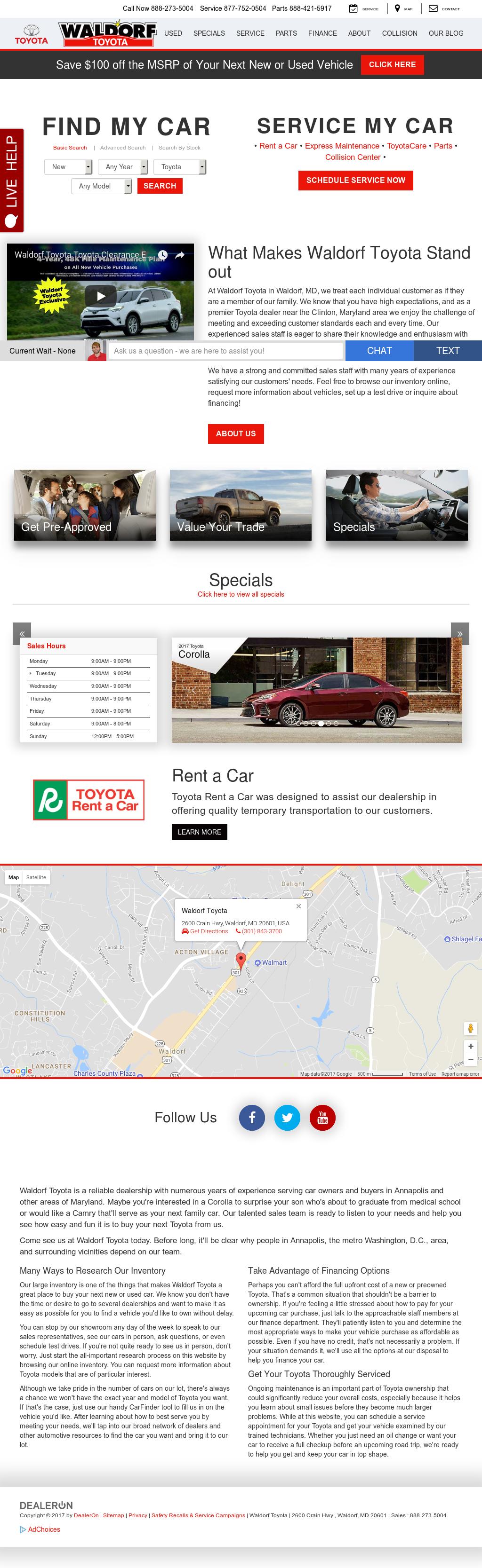 Toyota Waldorf petitors Revenue and Employees Owler pany