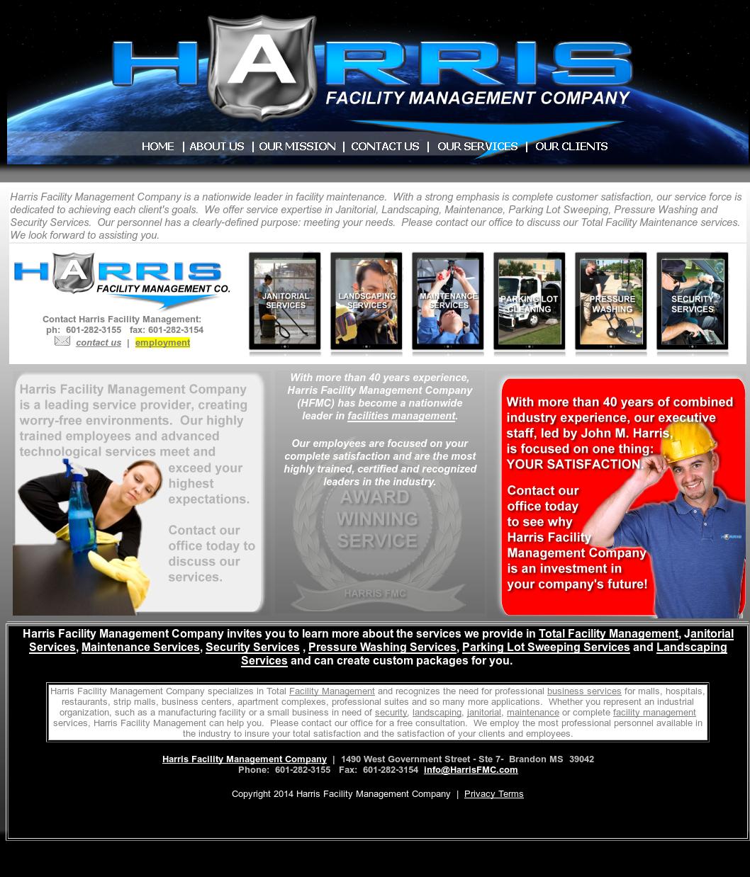Harris Facility Management Company Competitors Revenue And