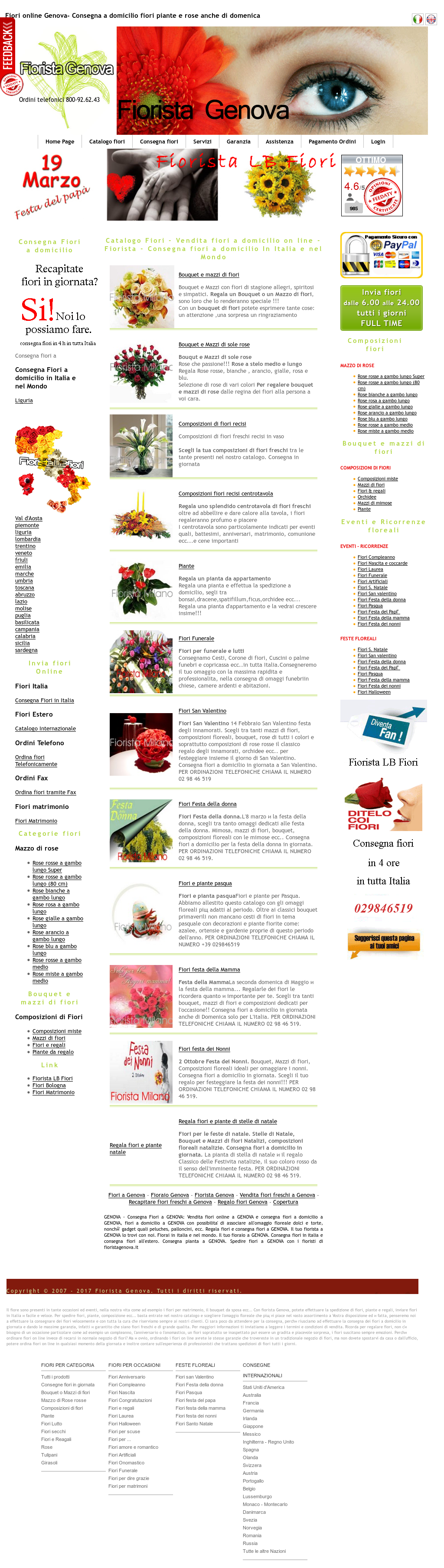 Consegna Fiori Italia.Fiorista Lb Fiori Consegna Fiori Online Competitors Revenue And