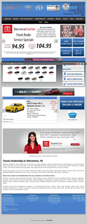 Warrenton Toyota petitors Revenue and Employees Owler pany