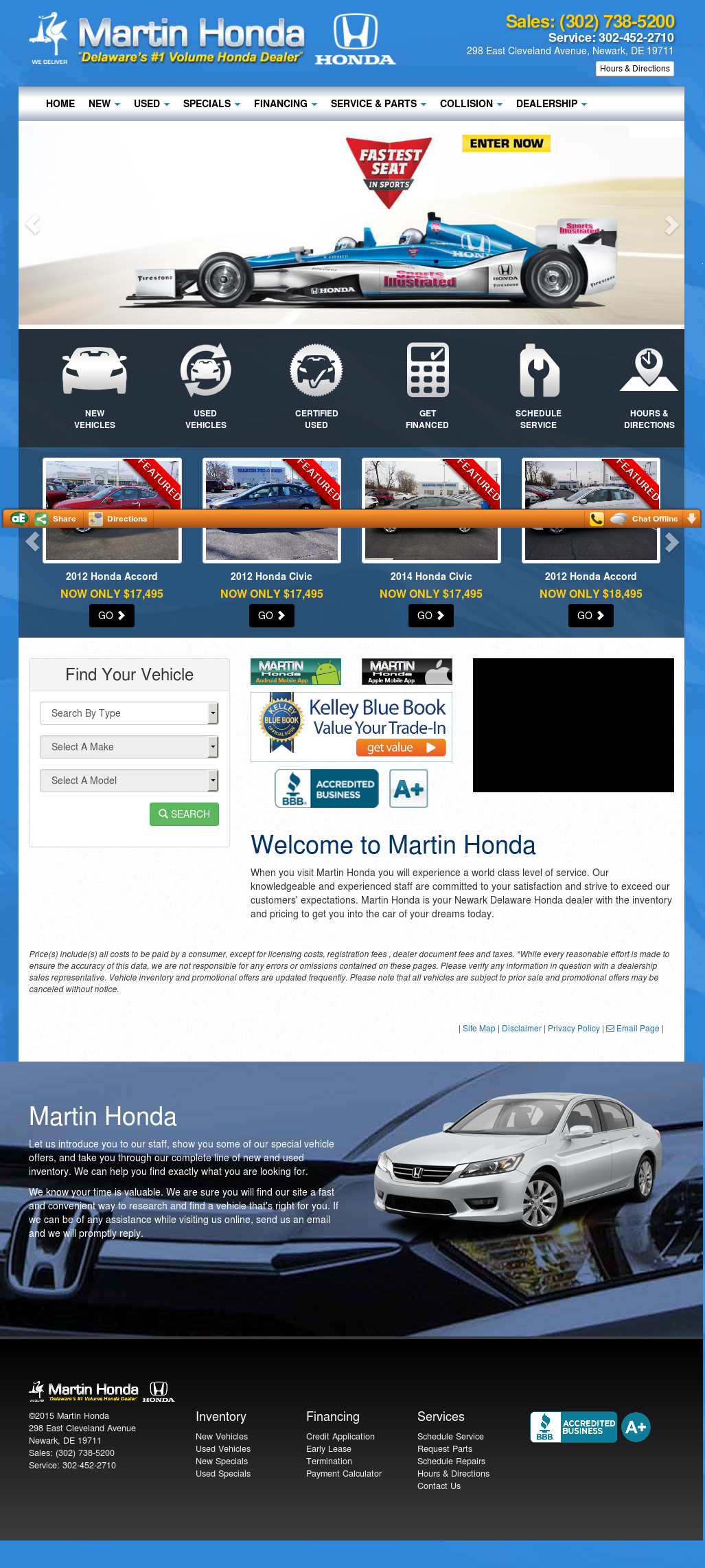 Martin Honda Competitors, Revenue And Employees   Owler Company Profile