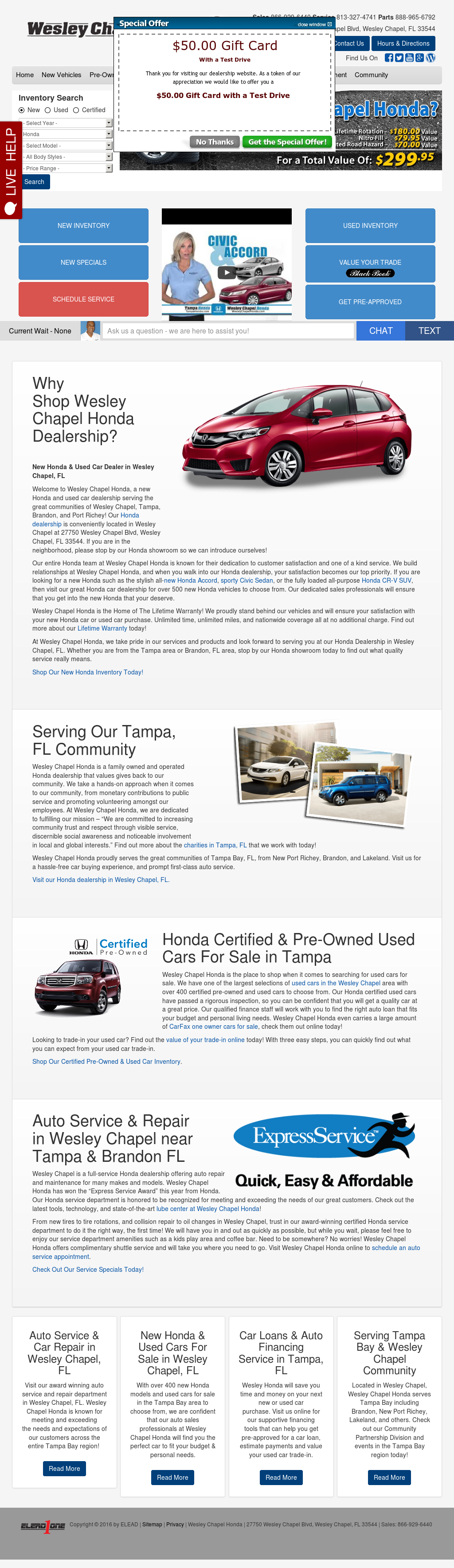 Wesley Chapel Honda Competitors, Revenue And Employees   Owler Company  Profile