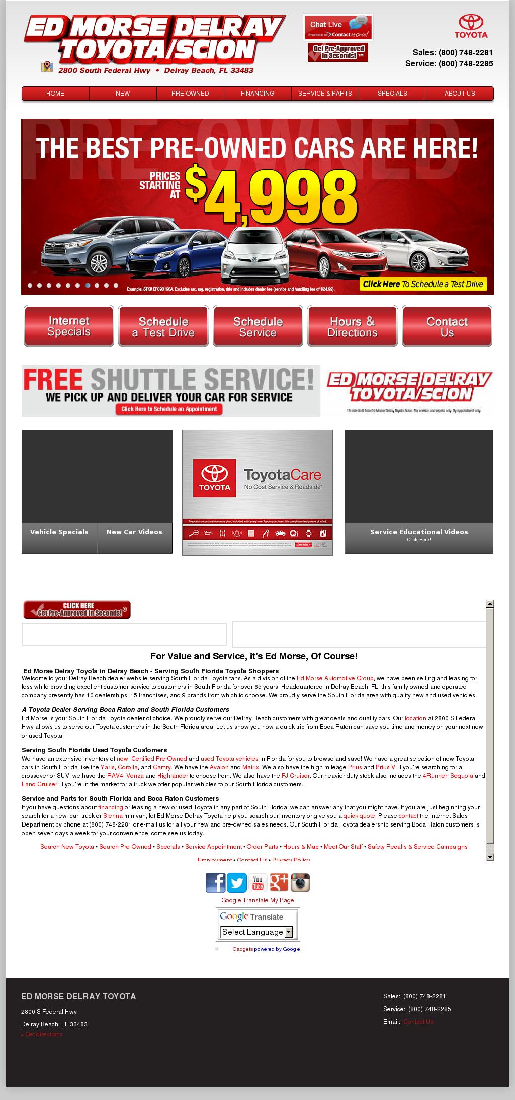 Ed Morse Delray Toyota Competitors, Revenue And Employees   Owler Company  Profile