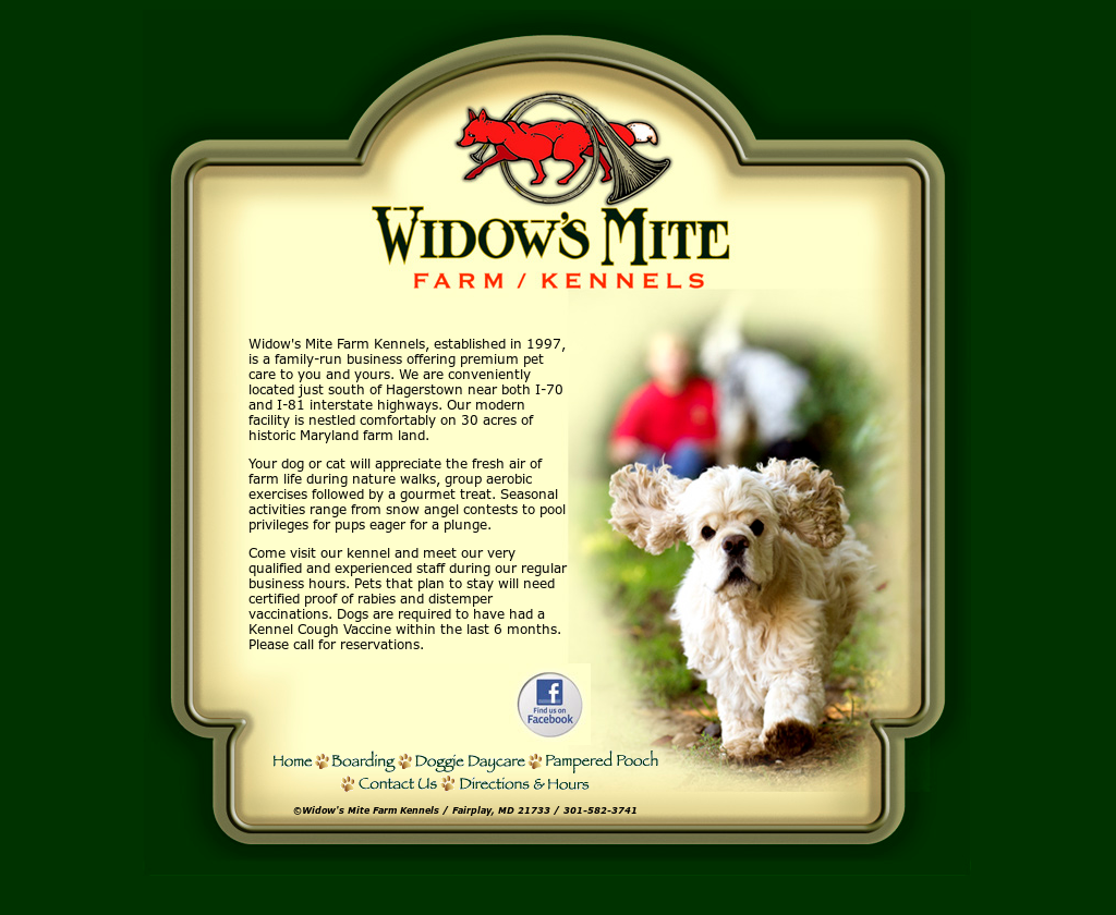 Widow's Mite Farm/kennels Competitors, Revenue and Employees