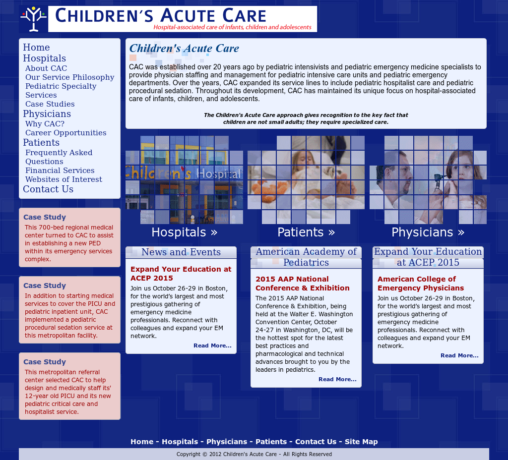 Childrensacutecare Competitors, Revenue and Employees